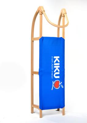 Kiku stehend